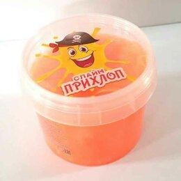 Мыльные пузыри - Слайм Прихлоп Перламутровый оранжевый 100 грамм, 0