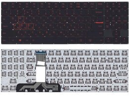 Клавиатуры - Клавиатура для Lenovo Legion Y520 Y520-15IKB…, 0