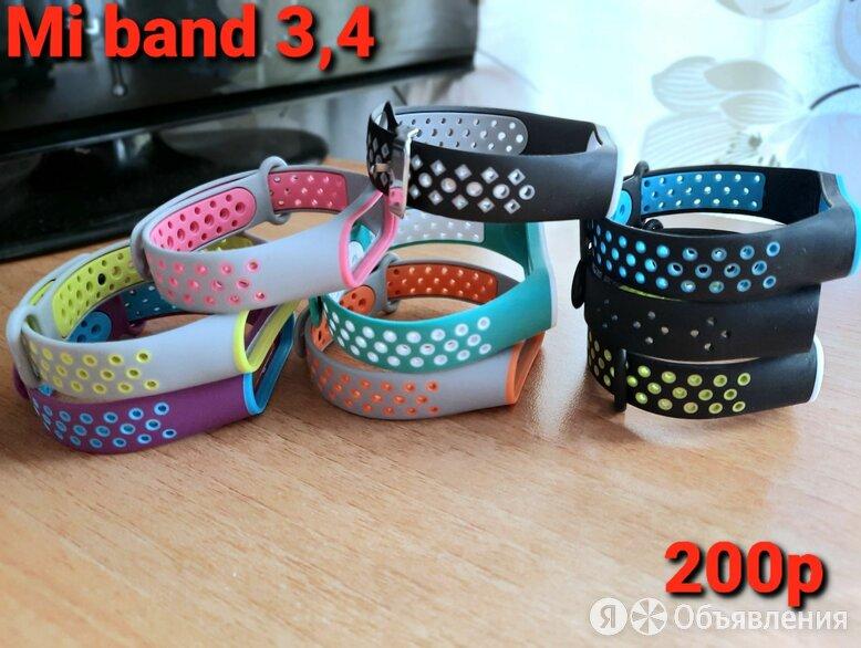 Новый ремешок для Mi Band 3,4  по цене 200₽ - Ремешки для часов, фото 0