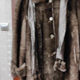 Шубы - Шуба мутон, размер 56, 0