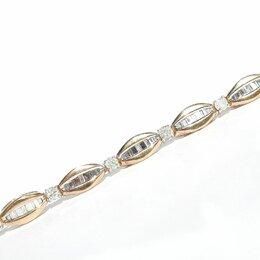 Браслеты - 🔥💎 Браслет, золото, бриллианты, 0