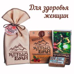 Подарочные наборы - Подарочный набор «ДЛЯ ЗДОРОВЬЯ ЖЕНЩИН», 0
