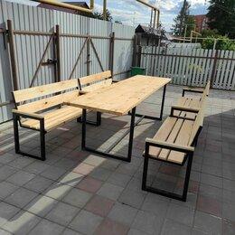 Столы - Стол и скамейки для кафе, беседки, парка и баз отдыха, 0