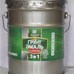 Эмали - Грунт-эмаль по ржавчине 3 в 1 ВИТ (красно-коричневая), 0