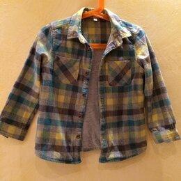 Рубашки - Рубашка-куртка на мальчика, размер 104, 0