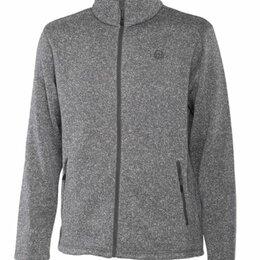 Куртки - Куртка флис «Bump» (Серый L), 0