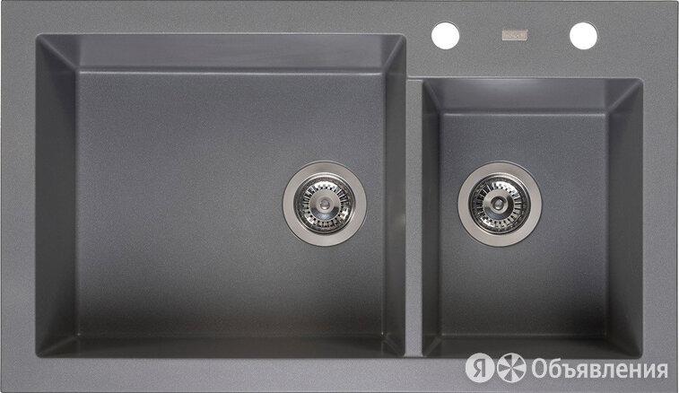 "Мойка кухонная Reginox Amsterdam 25 Grey Silvery 3,5"" (R31094) по цене 41600₽ - Кухонные мойки, фото 0"
