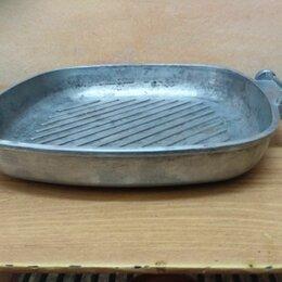 Сковороды и сотейники - Сковорода гриль Alluflon, 0