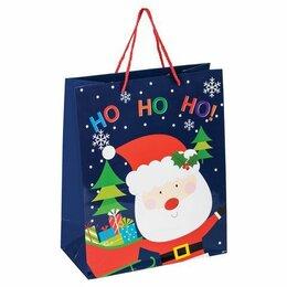 Упаковочные материалы - Пакет  бумаж/лам  26*12.7*32.4см, Дед Мороз, 0