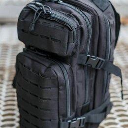 Рюкзаки - Большой чёрный рюкзак походный , 0