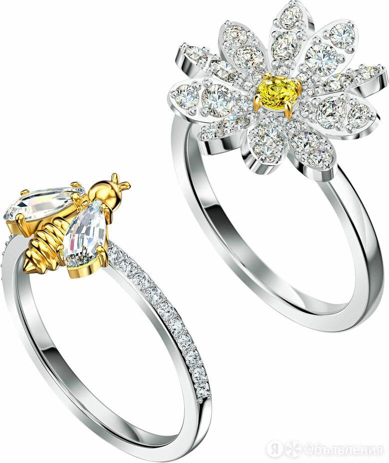 Наборное кольцо Swarovski 5534949_18-5 по цене 10900₽ - Кольца и перстни, фото 0