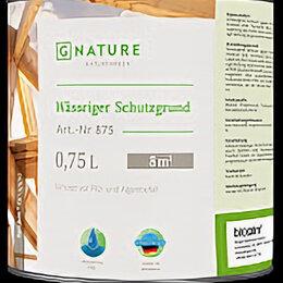 Антисептики - Gnature Антисептик для дерева 875 Wässriger Schutzgrund 0,75л, 0