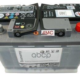 Батарейки - Аккумулятор Vag 72ач 640а Economy VAG арт. JZW915105A, 0