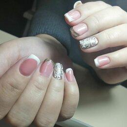 Наращивание ногтей - Маникюр и педикюр с покрытием, наращивание ногтей , 0