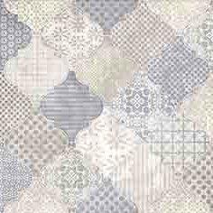 Керамическая плитка - Керамическая плитка Cersanit Majolica вставка А голубой (MA2S041DT), 0