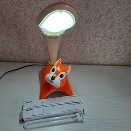Настольные лампы и светильники - Лампа настольная+ ночник, детская (Белка) + две запасные лампочки , 0