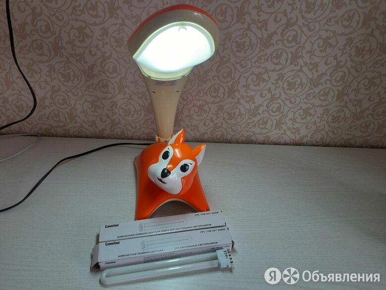 Лампа настольная+ ночник, детская (Белка) + две запасные лампочки  по цене 800₽ - Настольные лампы и светильники, фото 0