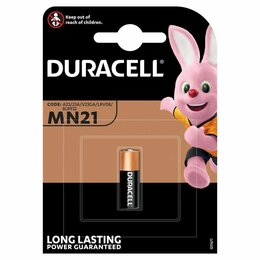 Батарейки - Батарейка Duracell MN21 (23A) 12V алкалиновая, 1BL, 0