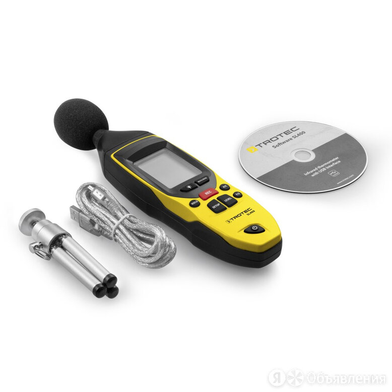 Шумомер TROTEC SL400 по цене 19313₽ - Измерительные инструменты и приборы, фото 0