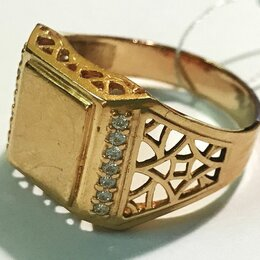 Кольца и перстни - Перстень золотой, 0