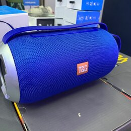 Портативная акустика - Колонка TG 509 синяя, 0