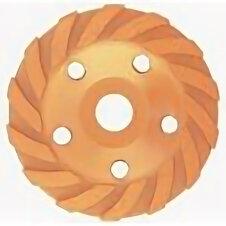 Для шлифовальных машин - Диск алмазный, 125мм ЧАШКА турбо-сегмент MATRIX, 0