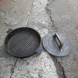 Сковороды и сотейники - Сковорода с гнетом, 0