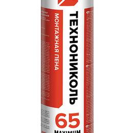 Изоляционные материалы - Пена монтажная профессиональная ТехноНИКОЛЬ №65 MAXIMUM ,всесезонная 12*990гр, 0