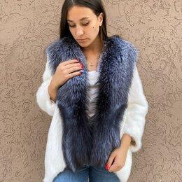 Шубы - Куртка из норки с чернобуркой, 0