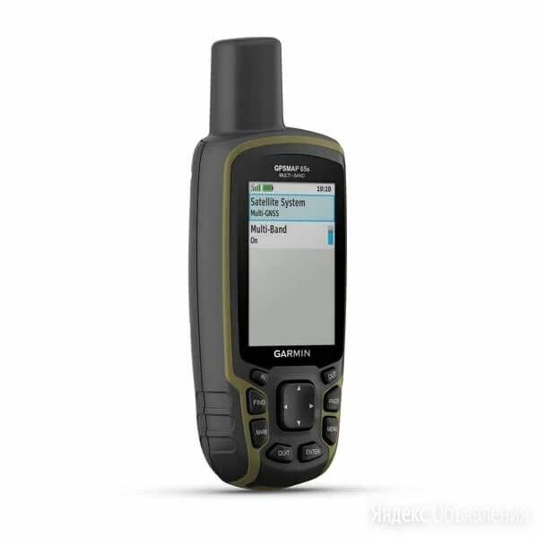 Туристический навигатор Garmin GPSMAP 65S по цене 37300₽ - Военные вещи, фото 0