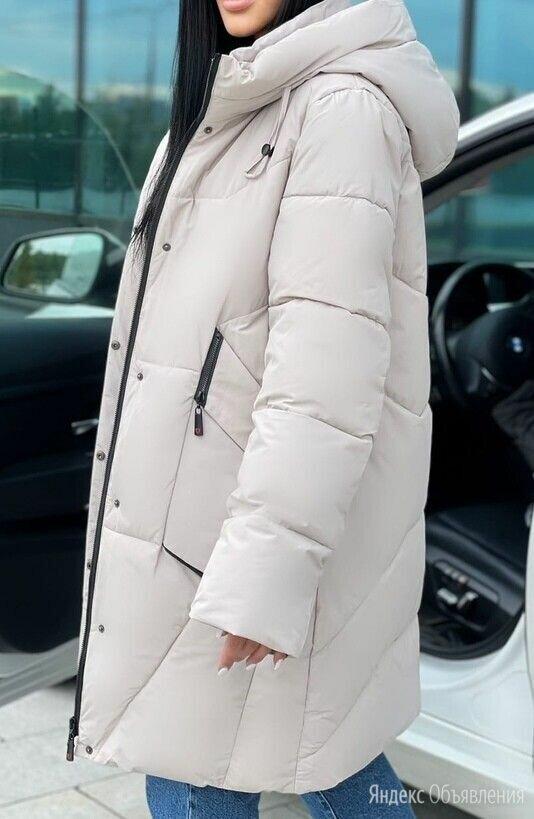 Женское болоньевое пальто евро-зима р-ры 46-60 по цене 3890₽ - Пальто, фото 0