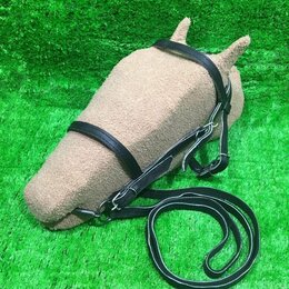 Товары для сельскохозяйственных животных - Уздечка для лошади. , 0