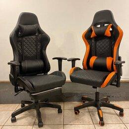 Компьютерные кресла - Компьютерное игровое кресло с качанием, 0