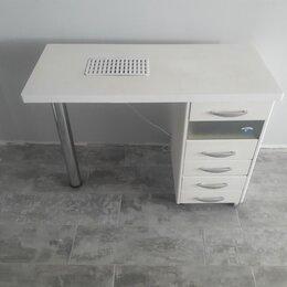 Мебель - Маникюрный стол со встроенной вытяжкой, 0