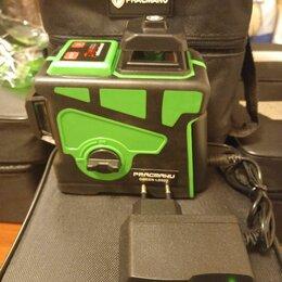 Измерительные инструменты и приборы - Лазерный уровень pracmanu green 3д 12линий , 0