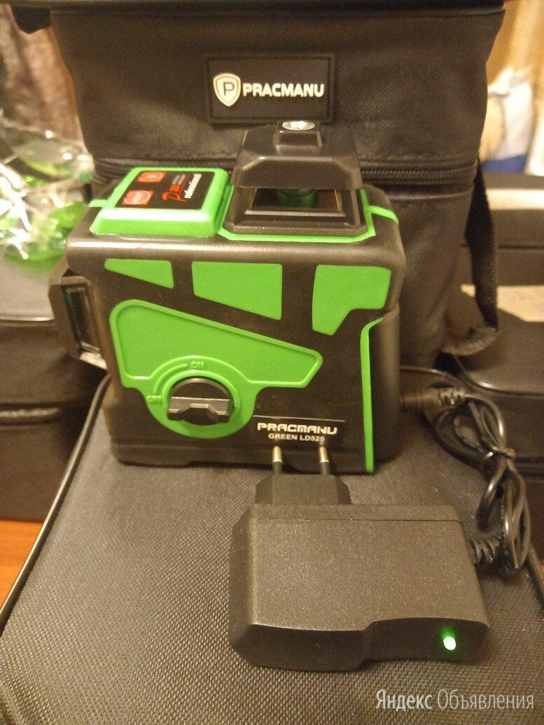 Лазерный уровень pracmanu green 3д 12линий  по цене 3500₽ - Измерительные инструменты и приборы, фото 0