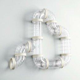 Игрушки и декор  - Лабиринт для грызунов 1,12 элементов, прозрачный, 0