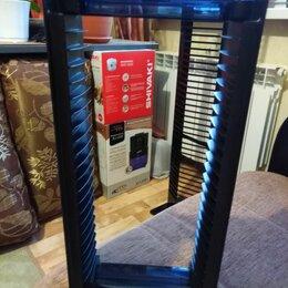 Сумки и боксы для дисков - Пластмассовая стойка для видео-аудио компакт дисков, 0