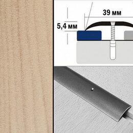 Плинтусы, пороги и комплектующие - Порог декорированный полукруглый А39 39х5,4 мм Сосна, 0