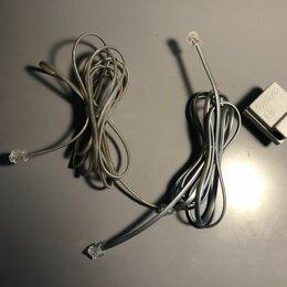 Кабели и разъемы - Телефонные кабели и розетка, 0