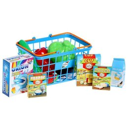 Торговля - Корзинка «Супермаркет», 22 предмета, 0