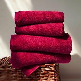 Полотенца - Набор из 4 полотенец Venera цвет: бордовый, 0