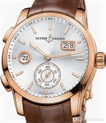 Ulysse Nardin Dual Time Manufacture 42mm по цене 872645₽ - Наручные часы, фото 0