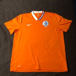 Футболки и майки - Футболка Nike FIT KNVB оригинал XXL, 0
