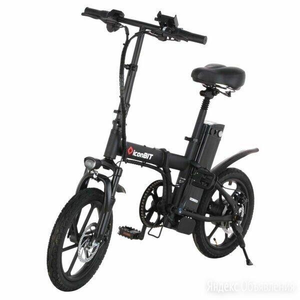 электровелосипед iconBIT E-Bike K216 350W 48В 10А/ч  складной по цене 40000₽ - Мото- и электротранспорт, фото 0
