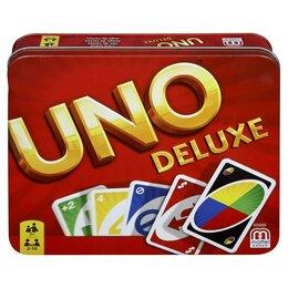 Настольные игры - Настольная карточная игра UNO - версия люкс, 0