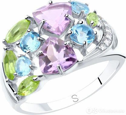 Кольцо SOKOLOV 92011834_s_18-5 по цене 2290₽ - Кольца и перстни, фото 0