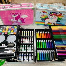 Рисование - Набор для рисования и творчества в чемоданчике Единорог, 0