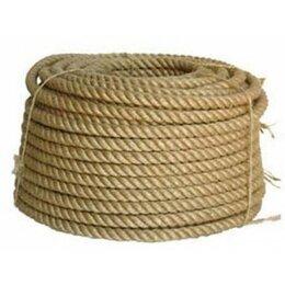 Веревки и шнуры - Канат джутовый 12мм 20м, 0