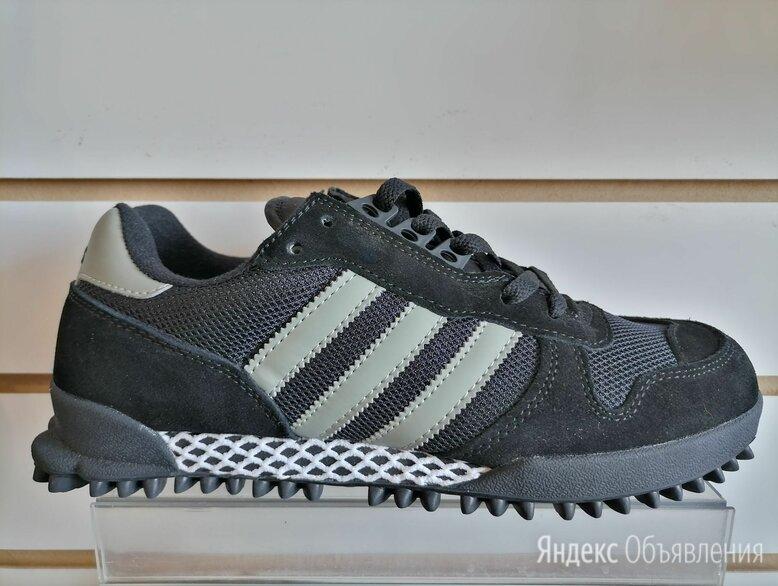 Кроссовки adidas marathon чёрные  по цене 2500₽ - Кроссовки и кеды, фото 0